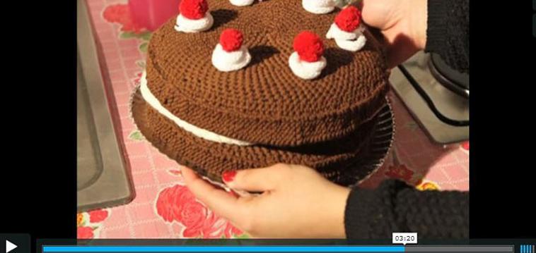Kuchen stricken