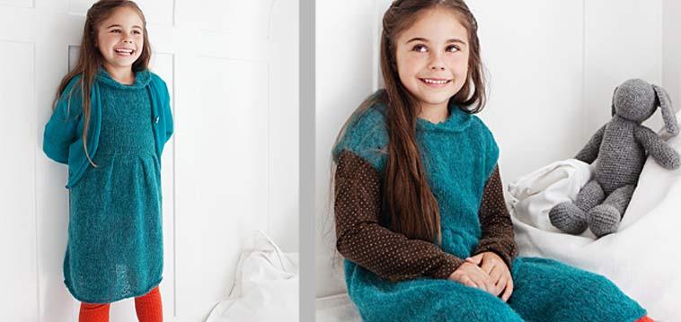 Anleitung Kinderkleid mit Jäckchen