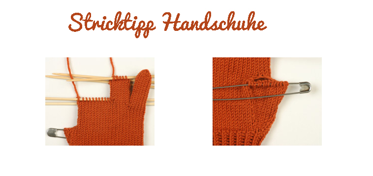 Stricktipp Handschuhe