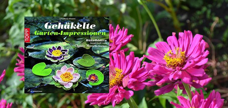 Gehäkelte Gartenimpressionen
