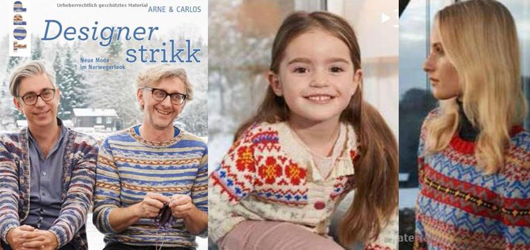 Designerstrikk - Neue Mode im Norwegerlook